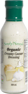 Food & Drink - Simply Natural - Organic Creamy Caesar Dressing, 354ml
