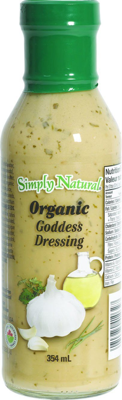 Food & Drink - Simply Natural - Organic Goddess, 354ml