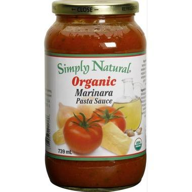 Food & Drink - Simply Natural Organic Marinara Pasta Sauce - 700ml