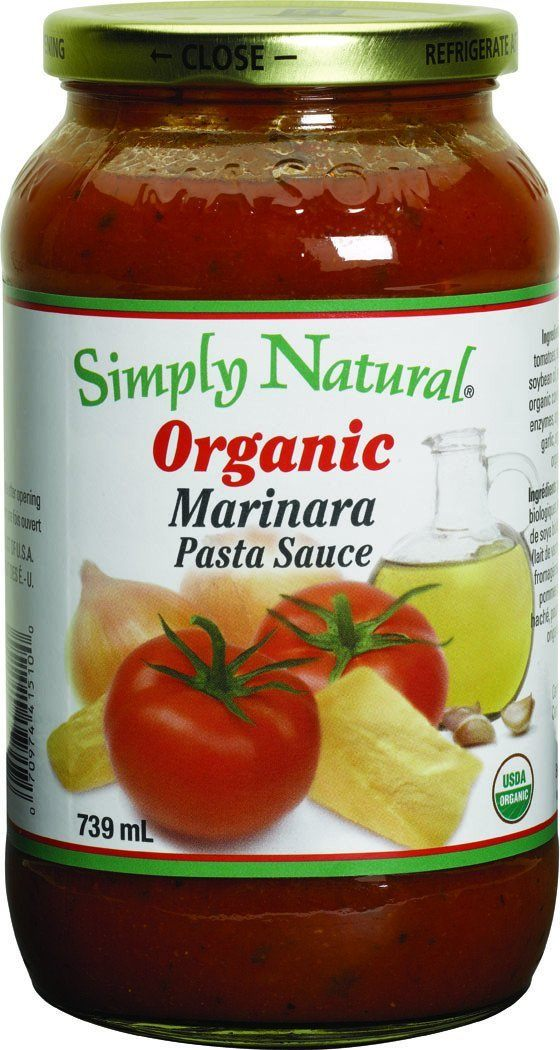 Food & Drink - Simply Natural - Organic Marinara Pasta Sauce, 700ml