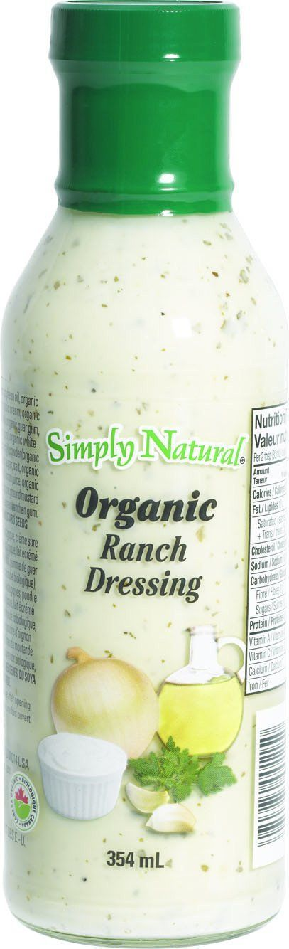 Food & Drink - Simply Natural - Organic Ranch Dressing, 354ml