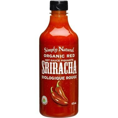 Food & Drink - Simply Natural - Organic Red Sriracha Hot Sauce 473ml