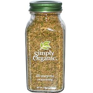 Food & Drink - Simply Organic All Purpose Seasoning - 59g