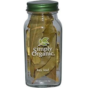 Food & Drink - Simply Organic Bay Leaf 4g