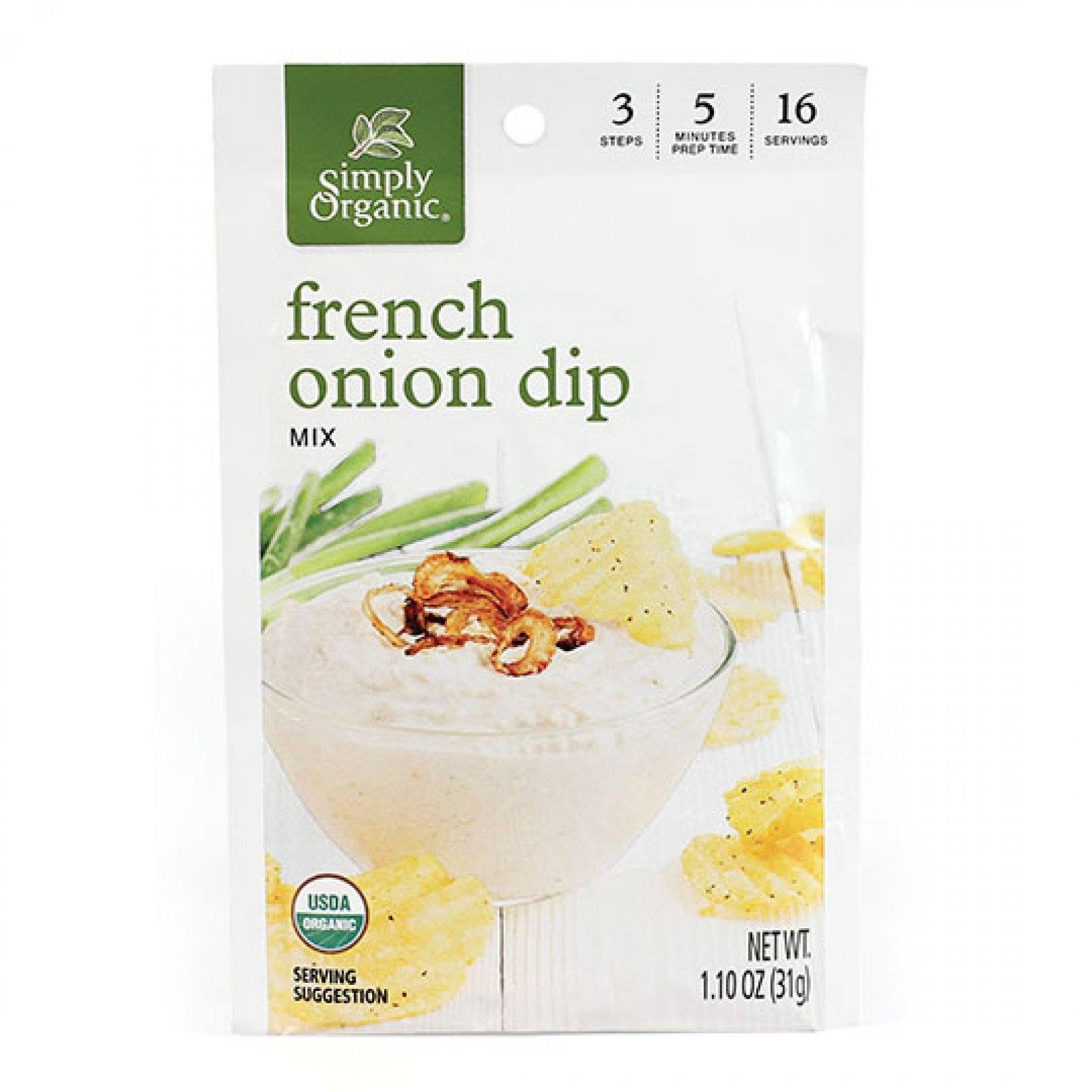 Food & Drink - Simply Organic - French Onion Dip Mix - 31g