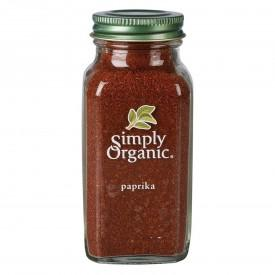 Food & Drink - Simply Organic Ground Paprika - 74g