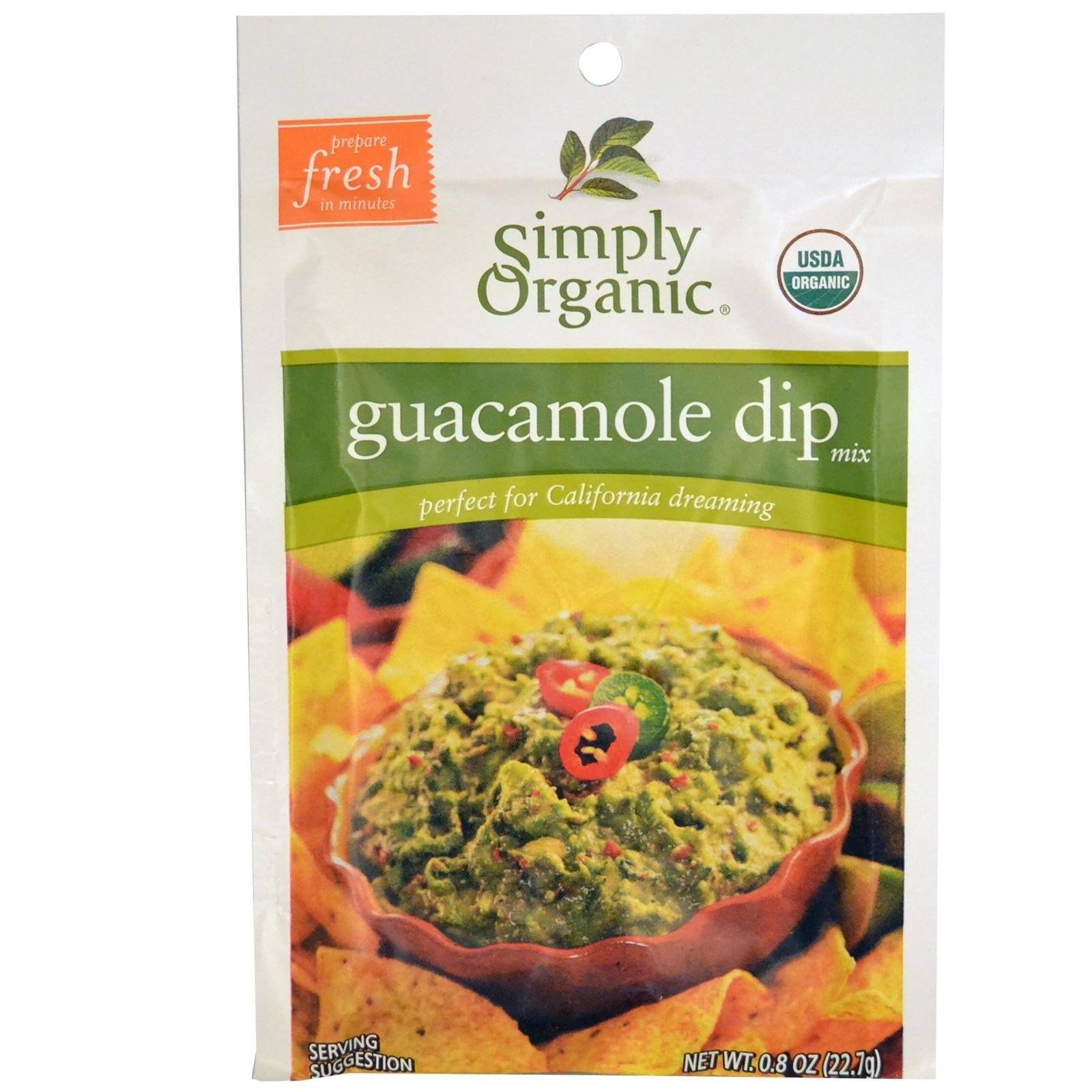 Food & Drink - Simply Organic - Guacamole Dip Mix - 23G