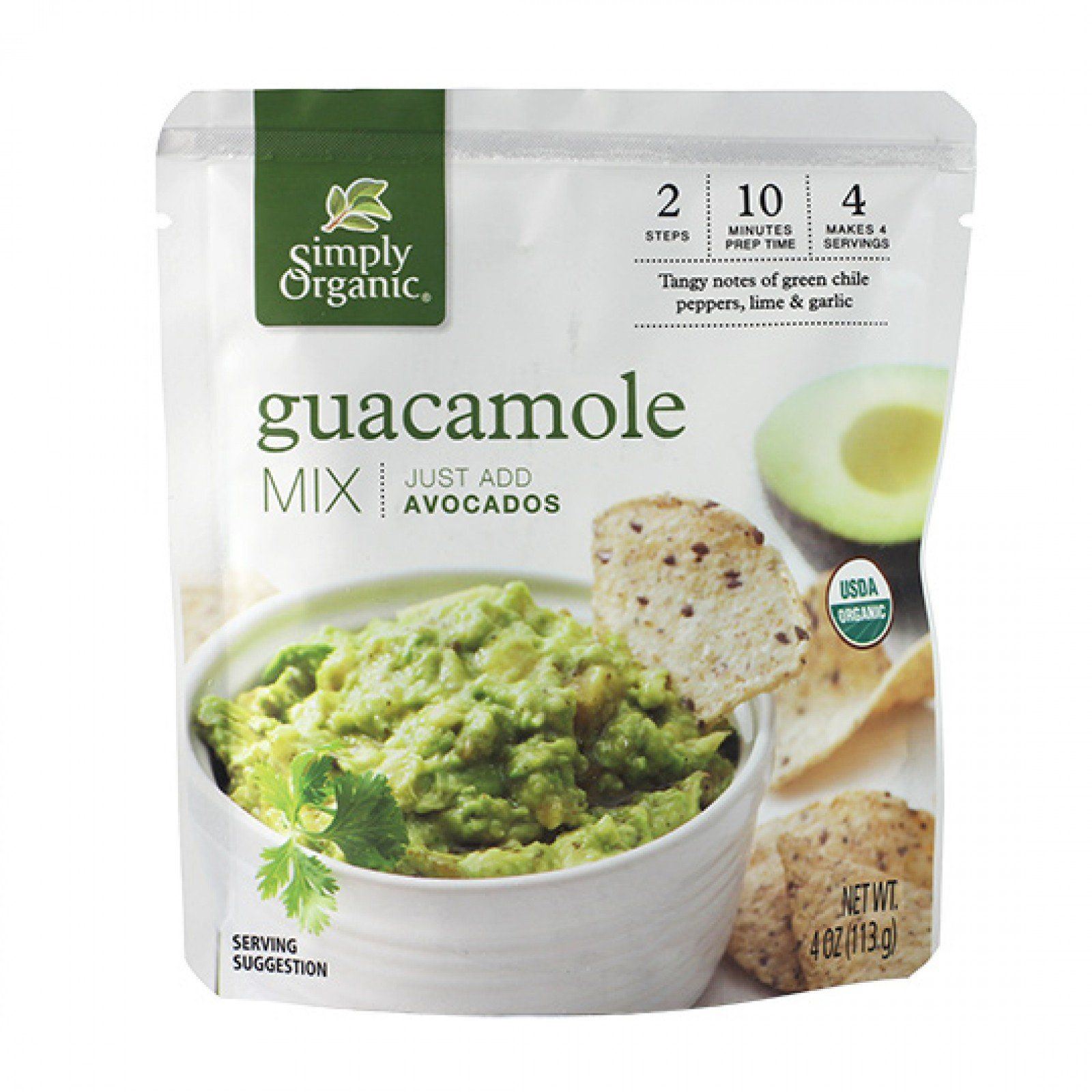 Food & Drink - Simply Organic - Guacamole Mix Sauce, 113g
