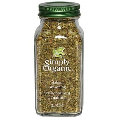 Food & Drink - Simply Organic Italian Seasoning - 22g