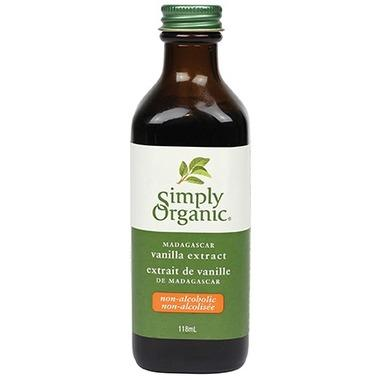 Food & Drink - Simply Organic Madagascar Vanilla Extract - 118ml