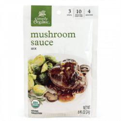 Food & Drink - Simply Organic Mushroom Sauce Mix - 25g