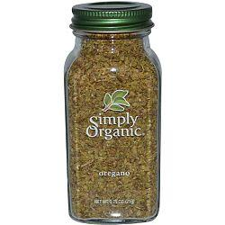 Food & Drink - Simply Organic - Oregano, 21G