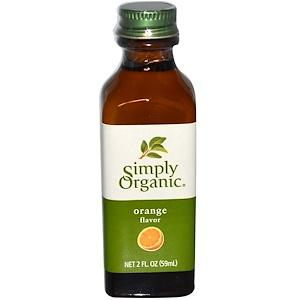Food & Drink - Simply Organic Org Orange Flavour - 59ml