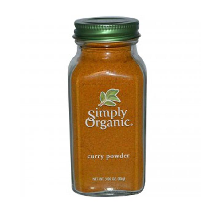 Food & Drink - Simply Organic - Organic Curry Powder, 85g