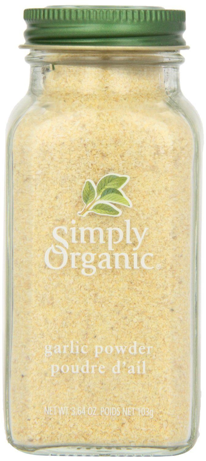 Food & Drink - Simply Organic - Organic Garlic Powder, 103g