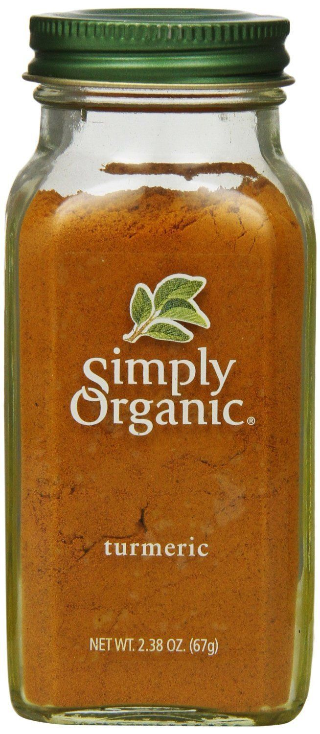 Food & Drink - Simply Organic - Organic Ground Tumeric Root, 67.5g