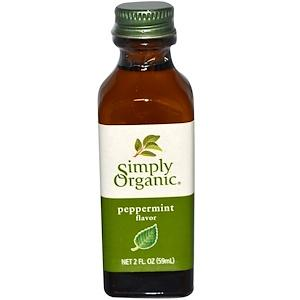 Food & Drink - Simply Organic - Organic Peppermint Flavour - 59ml