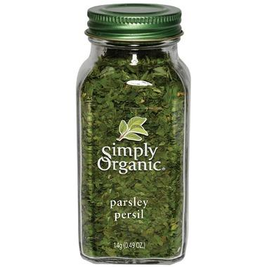Food & Drink - Simply Organic Parsley Flakes - 14g