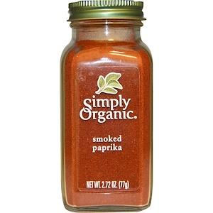 Food & Drink - Simply Organic Smoked Paprika - 77g
