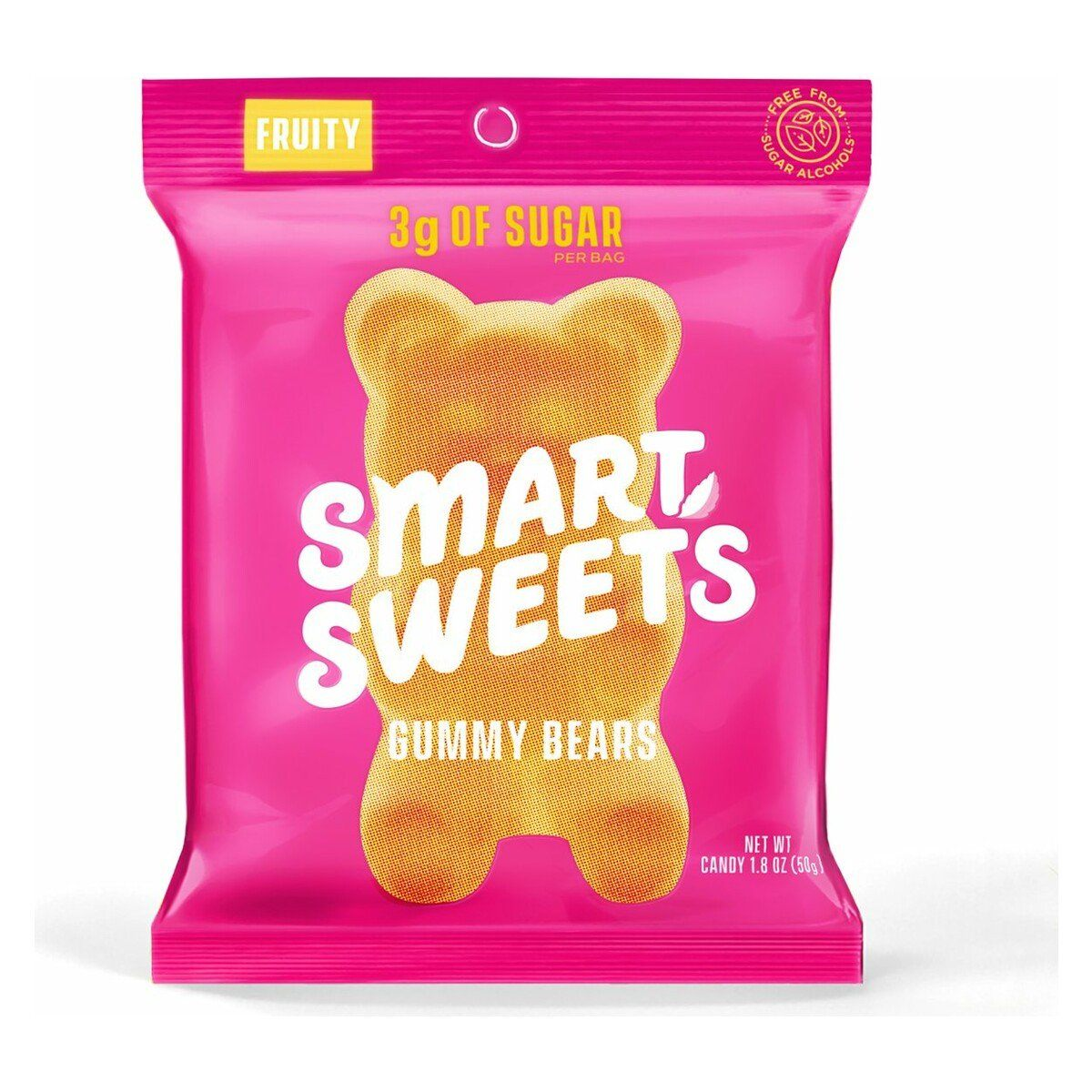Food & Drink - Smart Sweets - Fruity Low Sugar Gummy Bears, 50g