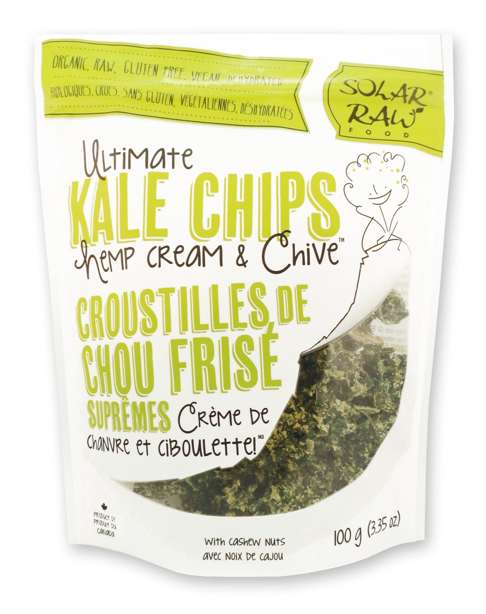 Food & Drink - Solar Raw Food - Ultimate Kale Chips, Hemp Cream