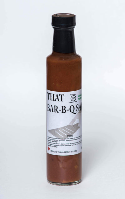 Food & Drink - Soss - That Bar-B-Q Sauce, 250ml