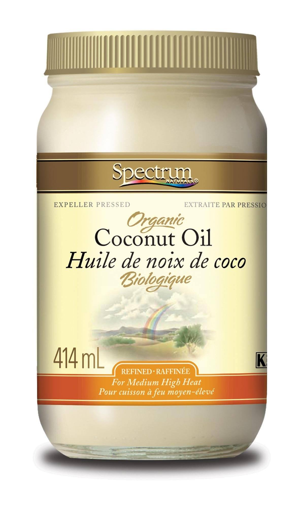 Food & Drink - Spectrum Naturals - Organic Coconut Oil, 414ml