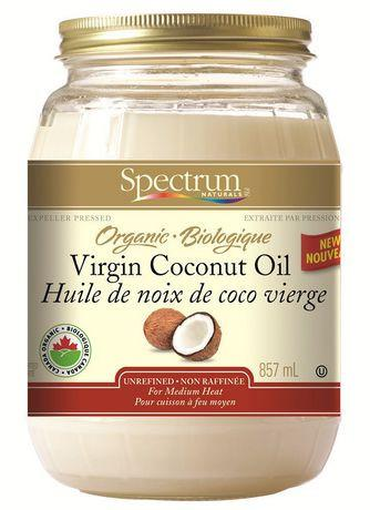 Food & Drink - Spectrum Naturals - Organic Virgin Coconut Oil, 857ml