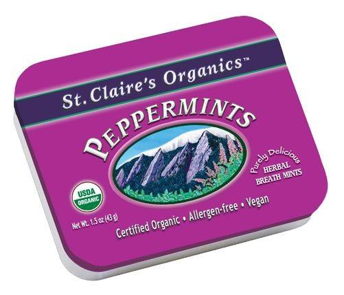 Food & Drink - St. Claire's Truly Organic Peppermints