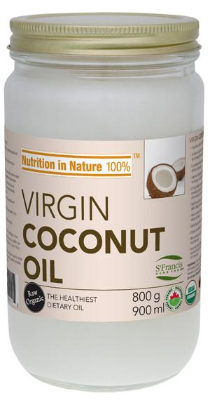 Food & Drink - St. Francis - Virgin Coconut Oil - 800g