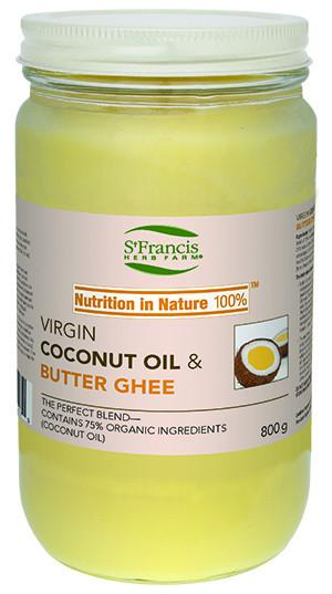 Food & Drink - St. Francis -Virgin Coconut Oil With Natural Ghee - 800g