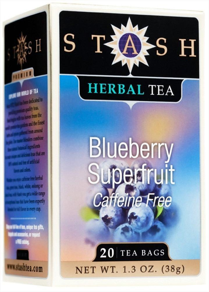 Food & Drink - Stash - Blueberry Superfruit Herbal Tea - 20 Bags