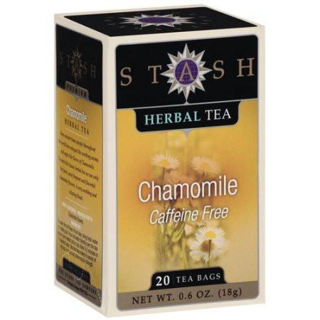 Food & Drink - Stash - Chamomile Caffeine Free Tea, 20 Bags