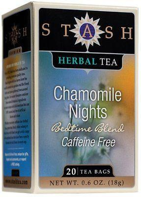 Food & Drink - Stash - Chamomile Nights Tea, 20 Bags