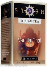 Food & Drink - Stash - Decaf Vanilla Chai Tea - 18 Bags