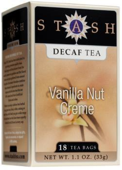 Food & Drink - Stash - Decaf Vanilla Nut Creme Tea, 20 Bags