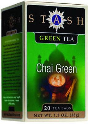 Food & Drink - Stash - Green Chai Tea, 20 Bags