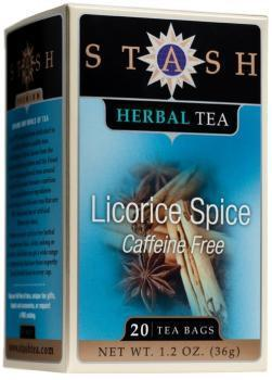 Food & Drink - Stash - Licorice Spice Herbal Tea, 20 Bags