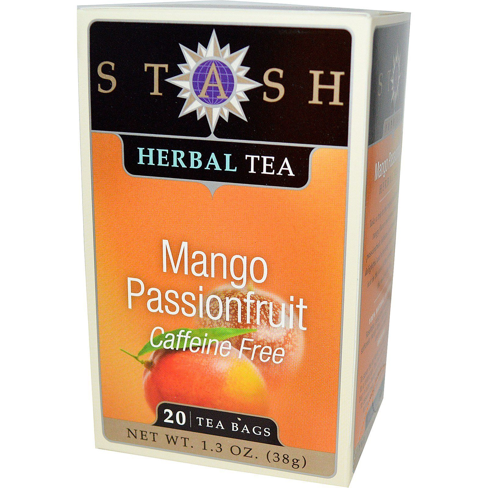 Food & Drink - Stash - Mango Passionfruit Herbal Tea, 20 Bags
