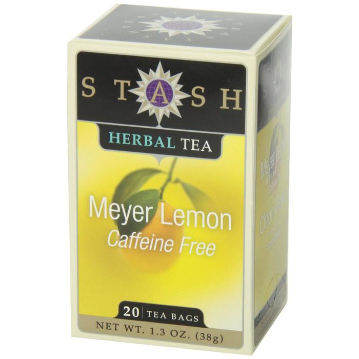 Food & Drink - Stash - Meyer Lemon Herbal Tea, 20 Bags