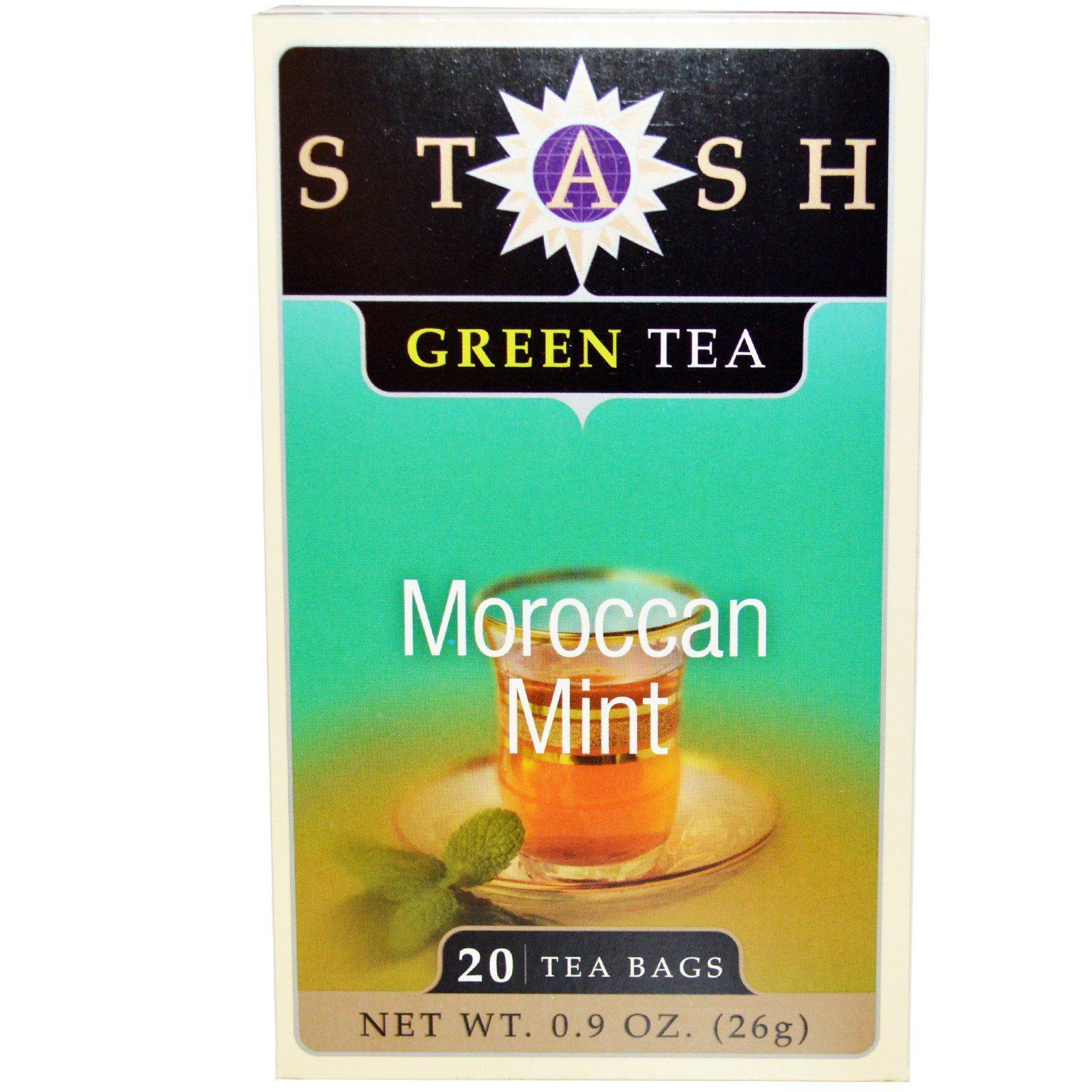 Food & Drink - Stash - Moroccan Mint Green Tea, 20 Bags