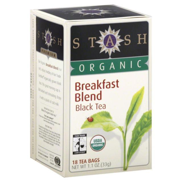 Food & Drink - Stash - Organic Breakfast Blend Tea, 18 Bags