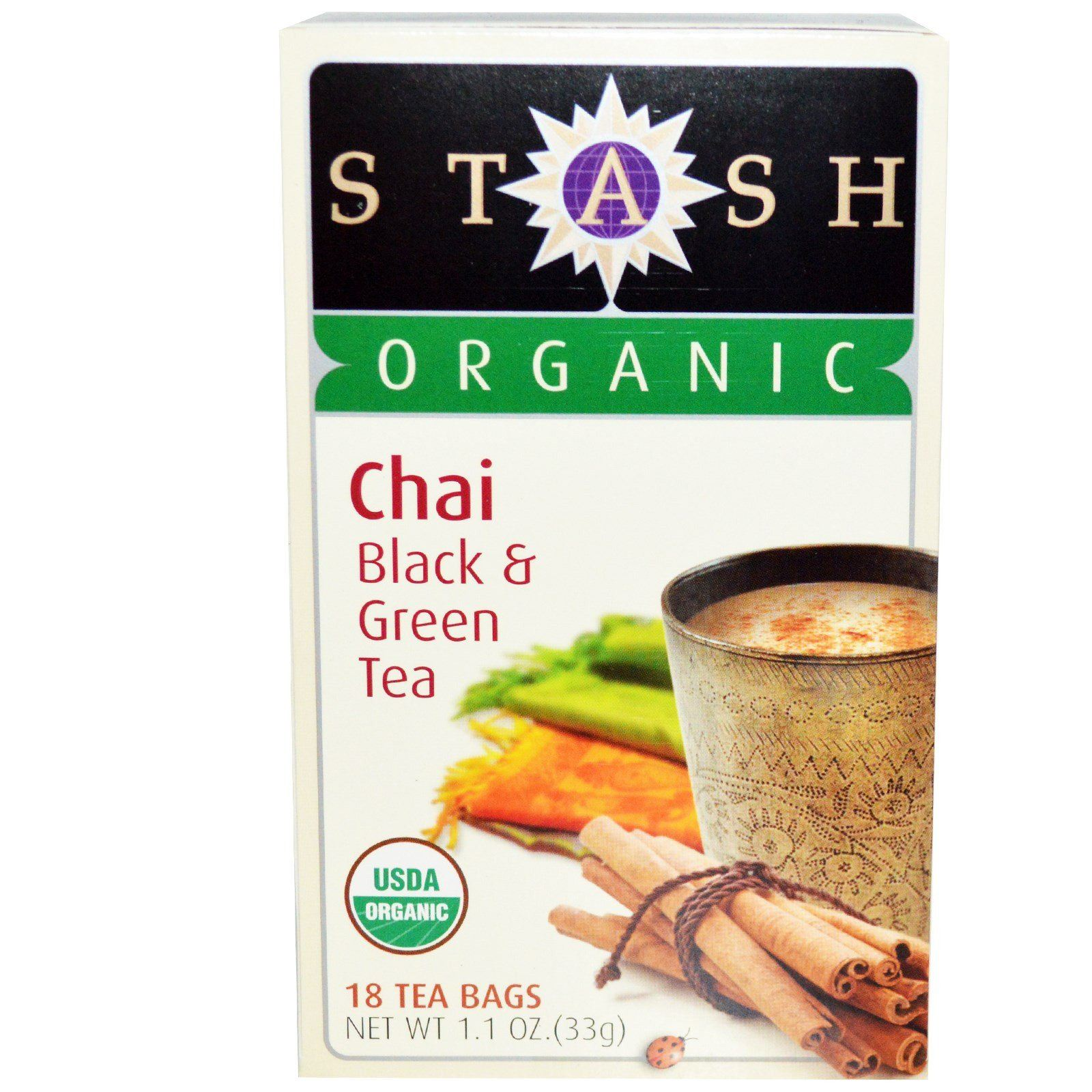 Food & Drink - Stash - Organic Chai Tea - 18 Bags