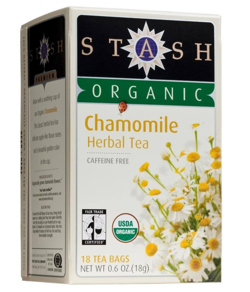 Food & Drink - Stash - Organic Chamomile Tea - 18 Bags