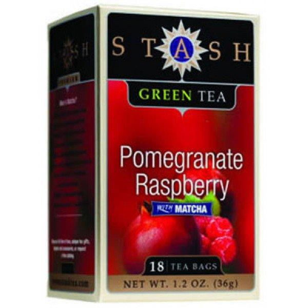 Food & Drink - Stash - Pomegranate Raspberry Green Tea, 18 Bags