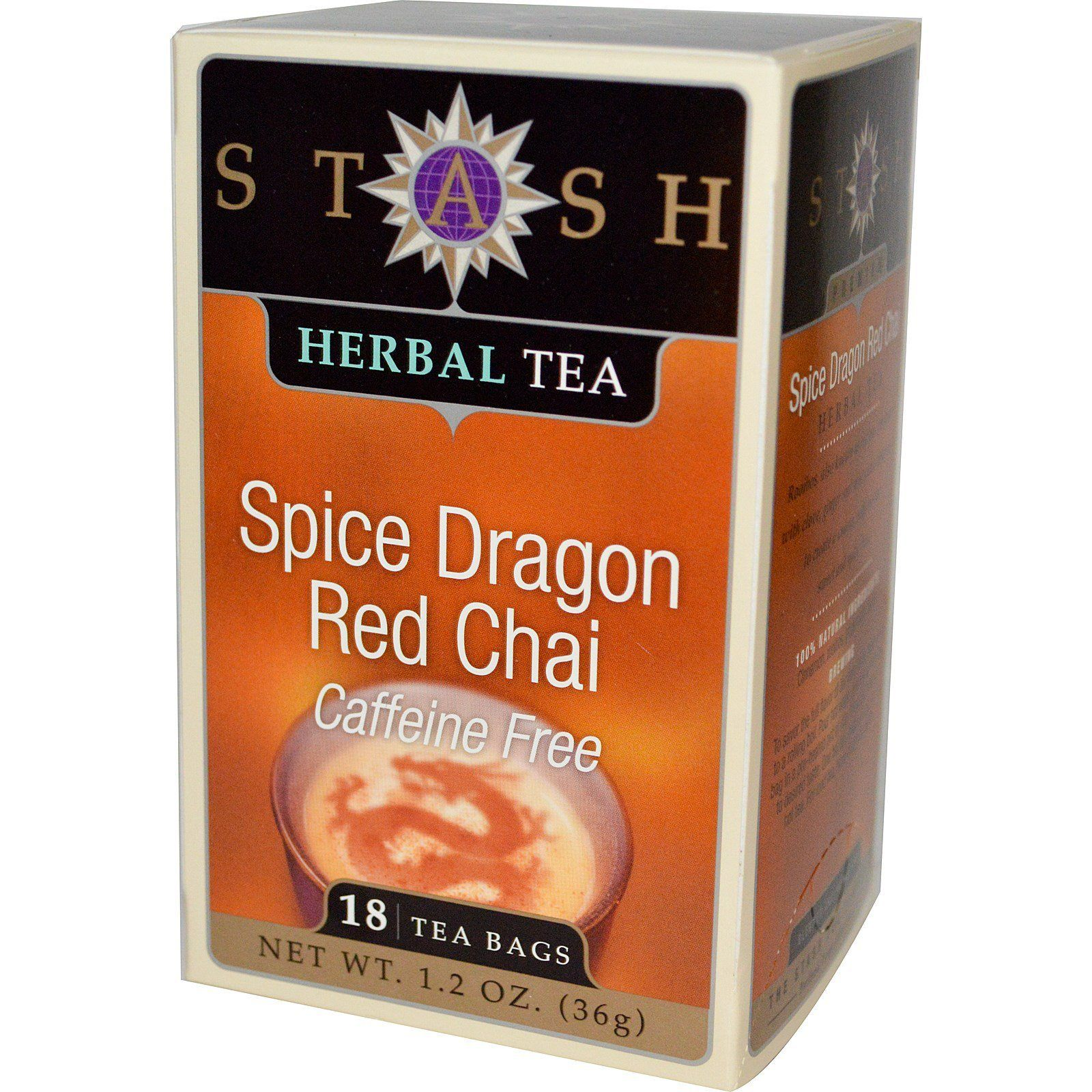Food & Drink - Stash - Spice Dragon Red Chai Tea, 18 Bags