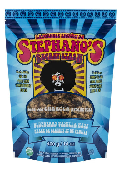 Food & Drink - Stephano's Baked Goods - Blueberry Vanilla Haze, 400g