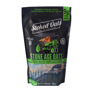 Food & Drink - Stoked Oats - Stone Age Oats, 500g
