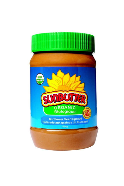 Food & Drink - Sunbutter - Organic Crunchy Sunflower Seed Spread, 454g