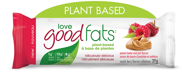 Love Good Fat Bars - Peanut Butter & Jam, 39g